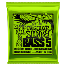 Ernie Ball 5-String Regular Slinky Bass 45-130
